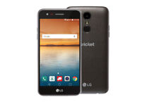 "NEW LG Fortune™ LG-M153 Cricket 16GB 4G LTE 5"" Smartphone BLACK"