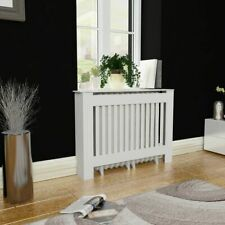 44inch White MDF Radiator Cover Heating Cabinet