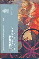 San Marino 2 € Euro GM 2018 500. Geburtstag Tintoretto Stgl./BU im Folder