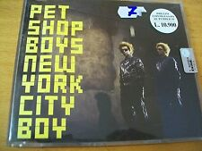 PET SHOP BOYS NEW YORK CITY BOY CD SINGOLO MINT