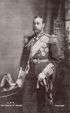 Royalty King George V Prince of Wales in full uniform