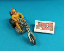 Hot Wheels Rumblers Torque Chop W/ Figure Rider Red Seat, Yellow Driver Vintage