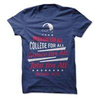 Bernie Sanders Political T-Shirt Tee American President Free Medicare College