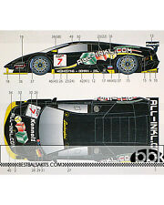 1/24 LAMBORGHINI MURCIELAGO #7 ALL-INKL.COM 2007 DECAL for AOSHIMA MUCKE BASSENG