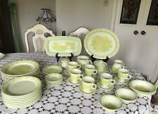 "Vintage -Franciscan Earthenware - Pattern ""Picnic "" -Dinnerware Set -46 Pieces"
