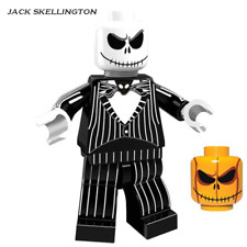 Jack Skellington Halloween The Horror Theme Movie Education gift building toy
