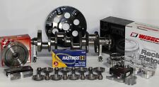 SBC CHEVY 421 ROTATING ASSEMBLY SCAT 4340 CRANK & RODS -13cc Dh. 4.155 400 MAINS