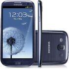 "Libre Telefono Movil 4.8"" Samsung Galaxy SⅢ I9300 16GB 8MP GPRS 3G Radio - Negro"