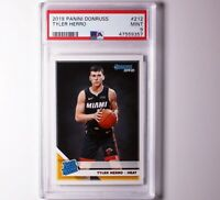 2019 Panini Donruss #212 TYLER HERRO RC Rated Rookie PSA 9 Mint Miami Heat 📈