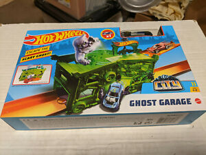 Hot Wheels City Ghost Garage Track Set NEW SEALED by Mattel