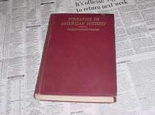 FIREARMS IN AMERICAN HISTORY 1600 - 1800 by CHARLES SAWYER 1ST ED HARDCOVER 1910