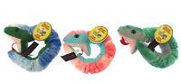 "DOWMAN Snake 11"" Long CHOICE  Cuddly Soft Toy Plush WRIST RAPPERS"