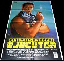 1986 Raw Deal ORIGINAL SPAIN POSTER Tough Arnold Schwarzenegger Gun Jano Art!