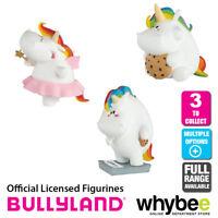 Genuine Bullyland Chubby Unicorn Collection Plastic Figurines Figures Full Range