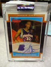 2002 Bowman Signature Amare Stoudemire Autograph Jersey Relic RC #586/999