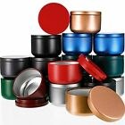 18 Pieces Candle Tins 3 Oz Candle Tin Cans Diy Candle Containers Candle Makin...