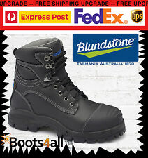 New Blundstone Mens Work Boots Shoes Safety Steel Toe Zip Lace Up 991 AU Size