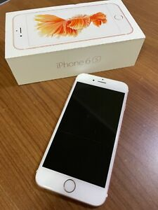 USED Apple iPhone 6s - 64GB - Rose Gold (AT&T) A1633 (CDMA + GSM) - Unlocked
