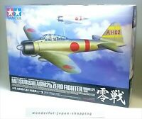 Tamiya 1/32 Mitsubishi A6M2b Zero Fighter Model 21 Plastic Model Kit F/S