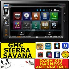 GMC SIERRA CHEVY SILVERADO SAVANA VAN CD/DVD BLUETOOTH USB CAR RADIO STEREO PKG