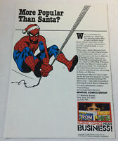 1980 trade industry ad page ~ Marvel Comics SPIDER-MAN