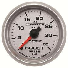 FITS FORD DODGE CHEVY AUTO METER ULTRA-LITE II BOOST GAUGE....
