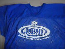 Blue Vintage Russel Athletic NFL Juniior Player Development MESH Jersey Mens XL