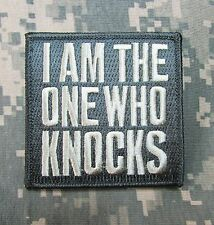 I AM THE ONE WHO KNOCKS WALTER BAD ACU LIGHT ISAF TACTICAL MORALE HOOK PATCH