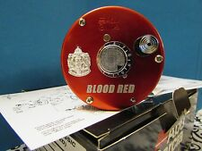 AMBASSADEUR 6500C BLOOD RED ABU GARCIA IMPORT ONLY SPECIAL REEL NEW MINT IN BOX