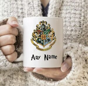 Harry Potter Personalised Any Name HP Hogwarts Mug Any Text Birthday Gift Funny
