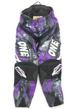 One Industries Carbon Series Boys 2.0 Motocross Pants Purple & Black Size Y24