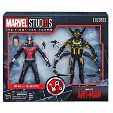 Marvel Legends MCU 10th aniversario Ant-Man vs Yellowjacket 2 Pack Nuevo