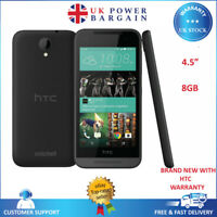 "New HTC Desire 520 Slate Gray 8GB 4.5"" 8MP Android 4G Unlocked Smartphone"