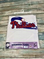 Vintage Philadelphia Phillies Apron New - Sealed In Original Package By McArthur