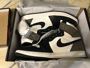 Nike Air Jordan 1 Retro High OG TS SP (Sail/Black-Dark Mocha) Size 9.5