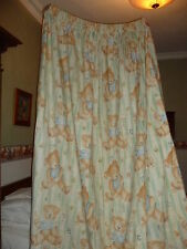 CURTAINS -  Anne French Teddy bear Material - Size 229 cm Deep & 2 Metres Wide