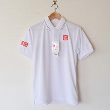 Uniqlo Kei Nishikori 2017 Wimbledon Dry EX Tennis Polo Shirt Men's Size XS NEW