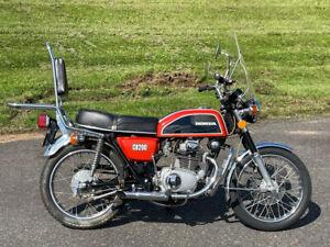 1974 Honda CB CB 200