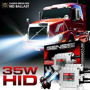 Xenon HID Aftermarket Conversion Kit Bulbs for 08 to 2015 International Prostar