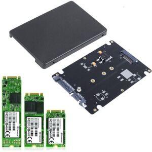 "M.2 NGFF SSD to 2.5"" SATA 3 Adapter Card Hard Disk Case Enclosure Converter"