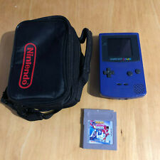 Nintendo Gameboy Color with Carry Case & Game