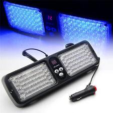 86LED Car SUV Bright SunShield Lamp Emergency Flash Strobe Sun Visor Light Blue