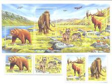Ireland-Extinct Animals min sheet and set mnh