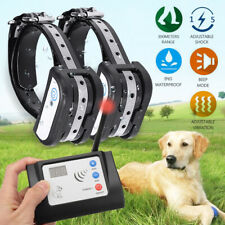 Wireless 1/2/3 Dogs Pet Fence System Waterproof Trainer Shock Collar Transmitter