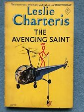 The Avenging Saint, by Leslie Charteris.  Vintage yellow paperback.