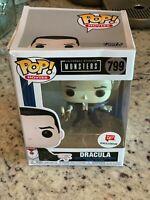 POP Universal Studios MONSTERS Dracula #799 Walgreens Exclusive Box Damaged