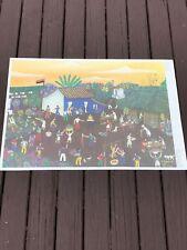 Carlos Marenco Nicaragua Folk Art Poster
