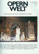 Opernwelt 1986/01 (Cheryl Studer) Elisabeth Schwarzkopf