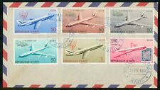 Mayfairstamps Haiti 1960 Airplane Combo Port Au Prince First Day Cover wwh_91693