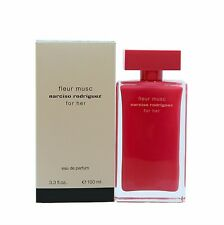 NARCISO RODRIGUEZ FLEUR MUSC FOR HER EAU DE PARFUM SPRAY 100 ML/3.3 FL.OZ.NEW(T)